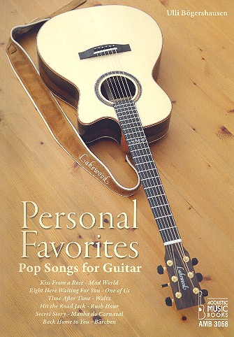 Ulli Bögershausen, Personal Favorites, Pop Songs for Guitar