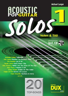 Langer, M./Acoustic Pop Guitar Solos 1