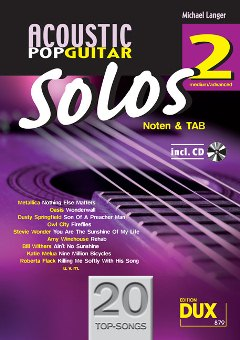 Langer, M./Acoustic Pop Guitar Solos 2